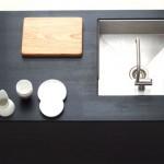 Boform køkken i sortbejdset ask