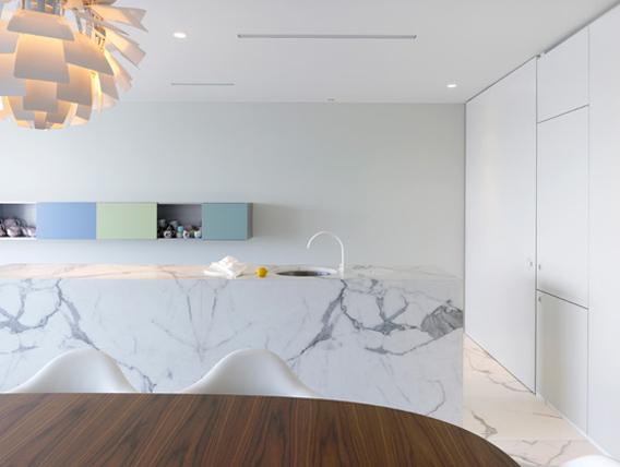 Marmor køkken fra Obumex