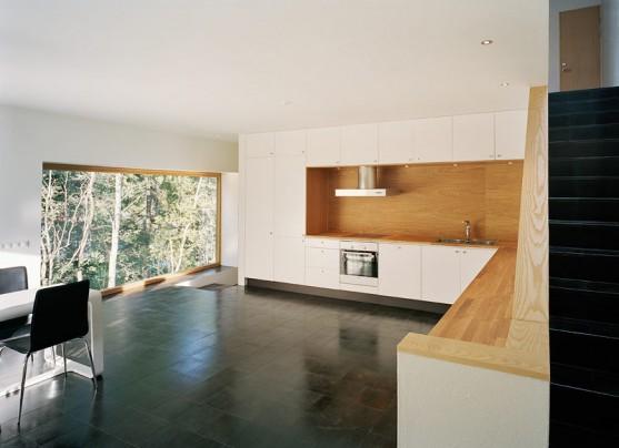Køkken fra Tham og Videgårds dobbel hus i Danderyd