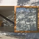 Forenklet køkken ø i træ fra australsk Dock4 arkitekter
